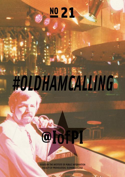 #OLDHAMCALLINGMAIN